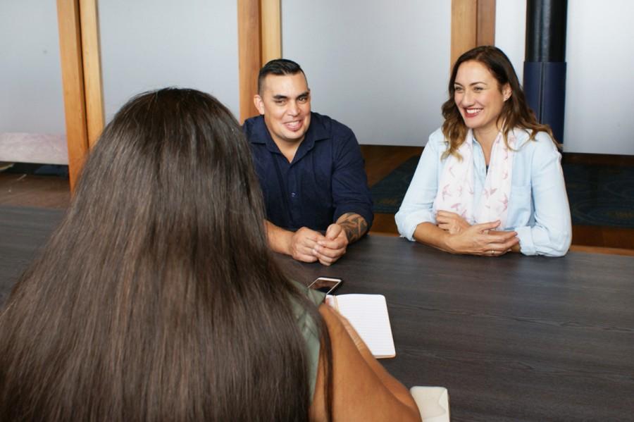 A panel interviews a job applicant